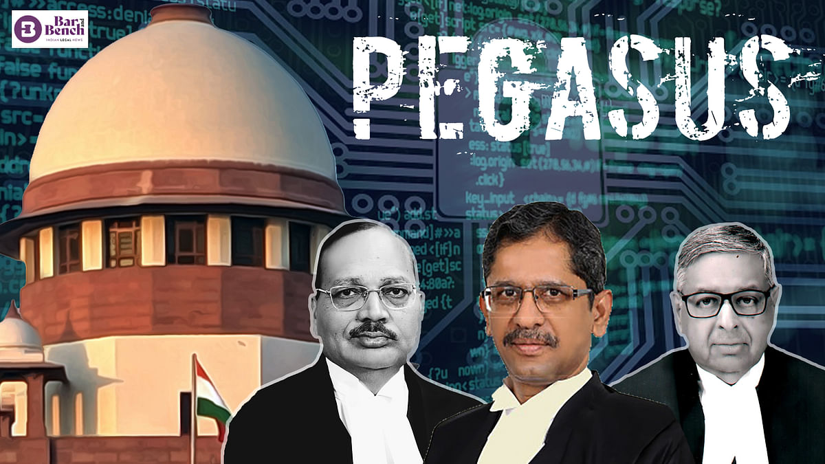 """""""What is the problem if (Govt) authority files an affidavit before us?"""" Supreme Court in Pegasus petitions [Read Courtroom Exchange]"""