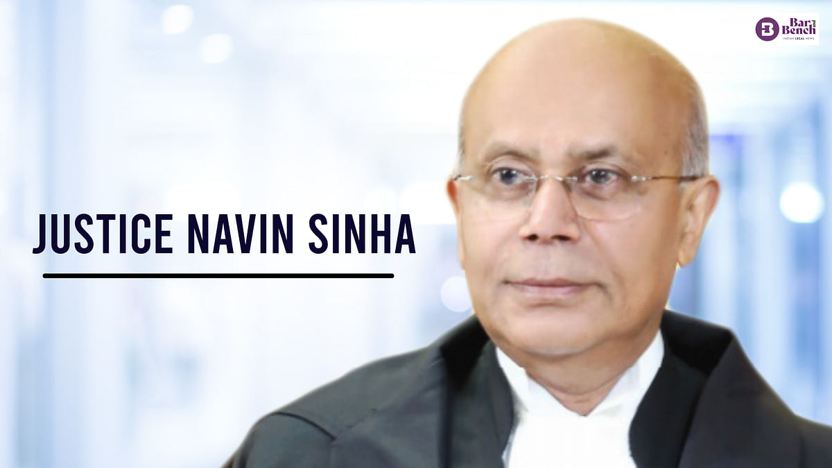 Young lawyers need to be trained, humility lies in recognizing one's own shortcoming: Supreme Court judge Justice Navin Sinha retires