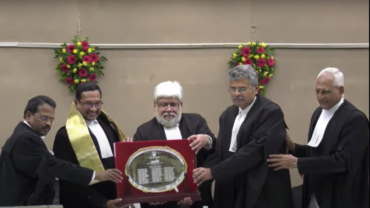 When you hold a position, you hold it for others; we are not higher than anyone else: Justice MM Sundresh bids farewell to Madras High Court