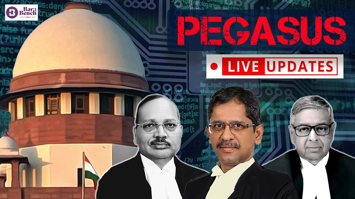 Supreme Court continues hearing Pegasus Snoopgate case [LIVE UPDATES]