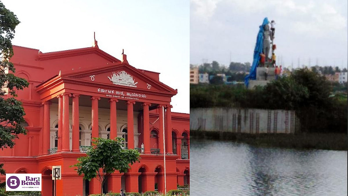 [Lord Shiva Statue in Begur Lake] Karnataka High Court directs Deputy Commissioner of Police to supervise probe, submit report in sealed cover