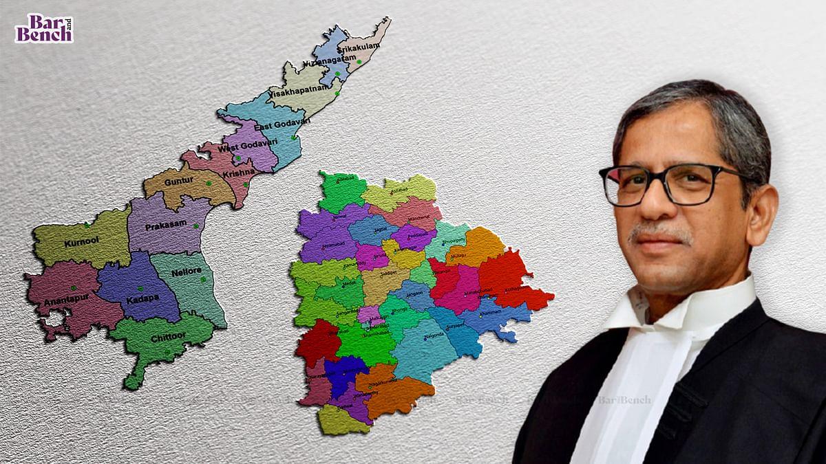 [BREAKING] CJI NV Ramana recuses from hearing Water Dispute between Andhra Pradesh and Telangana after AP opposes mediation