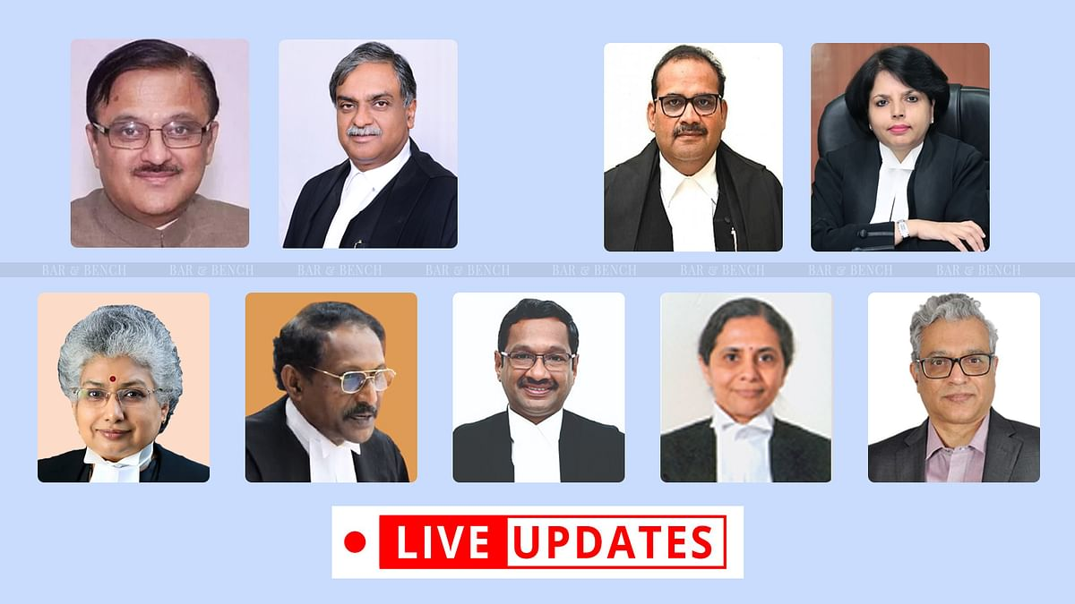 Nine new Supreme Court judges to take oath of office [LIVE UPDATES]