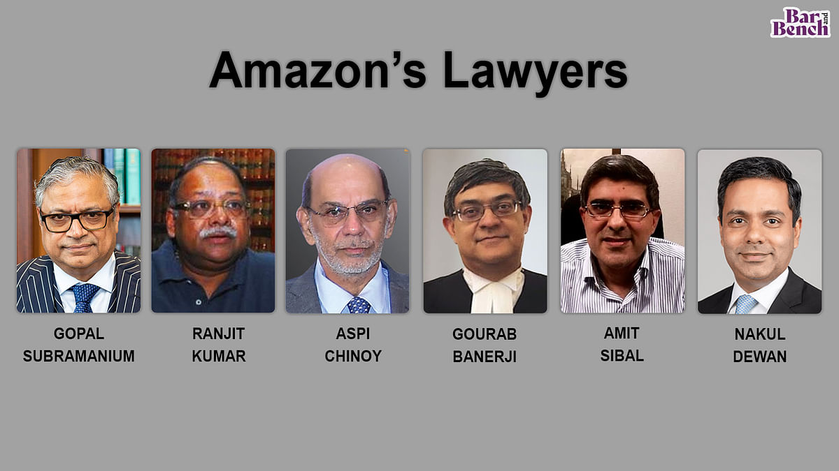 Amazon versus Future Retail and Reliance deal: 78 lawyers who appeared in the Supreme Court