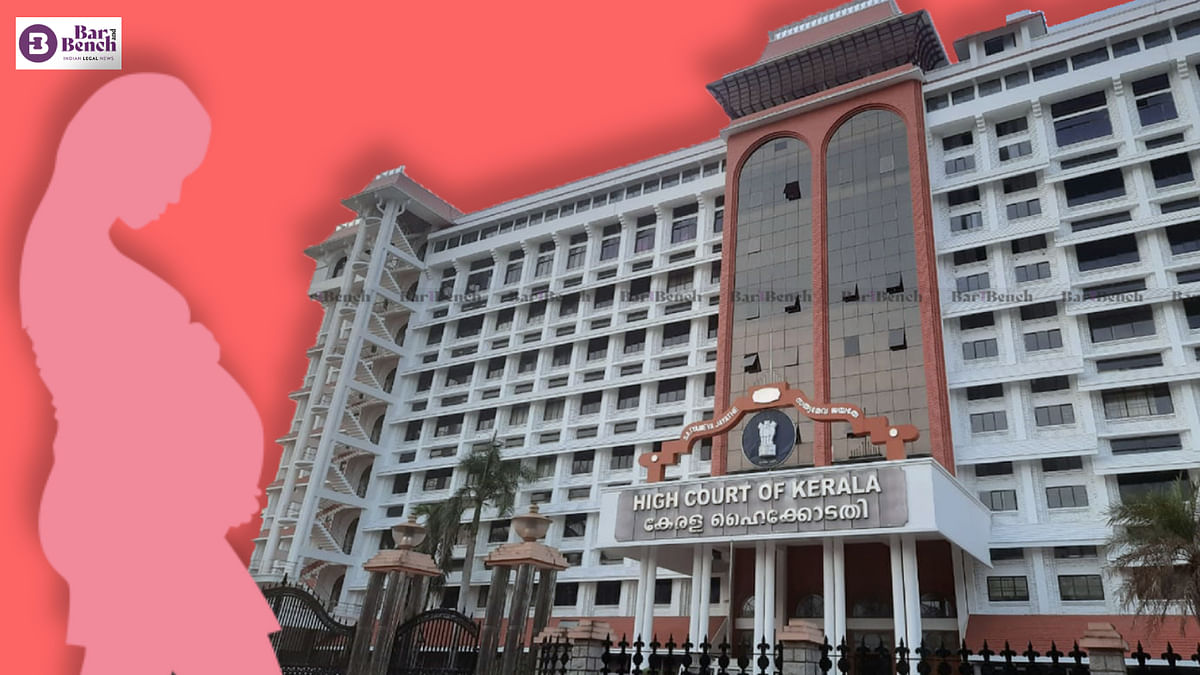 Cannot curtail pregnant woman's freedom to choose; Kerala High Court allows woman with mild mental disability to terminate 22-week-old pregnancy