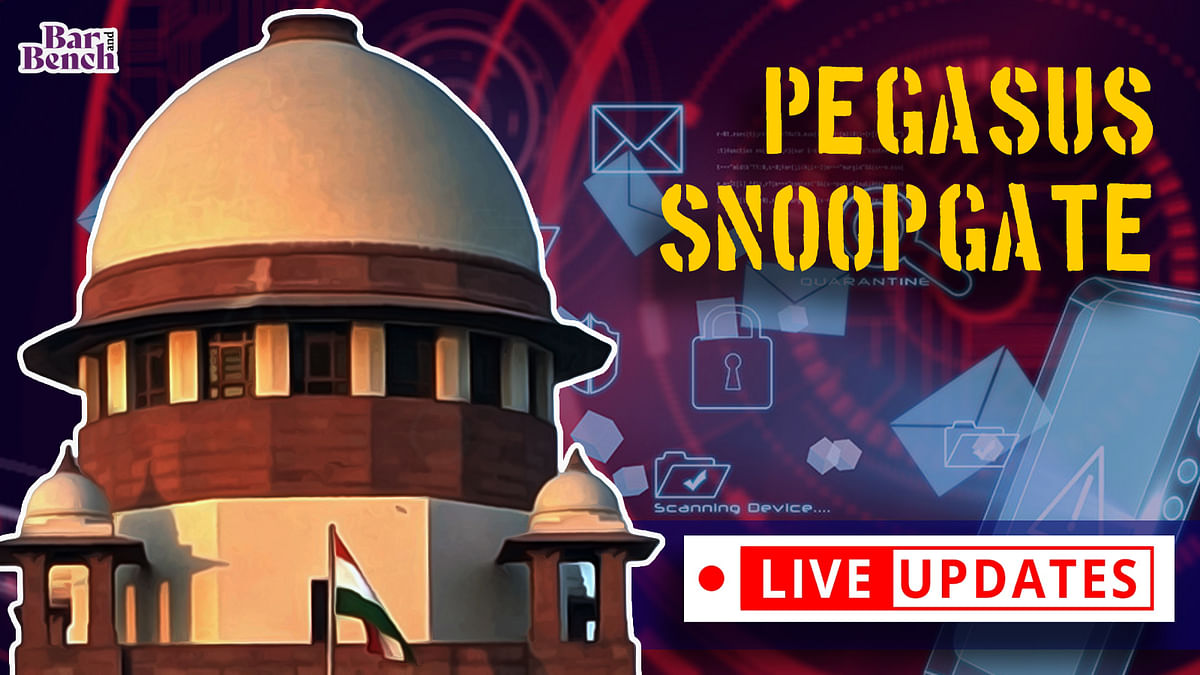 Pegasus Snoopgate petitions: Supreme Court continues hearing [LIVE UPDATES]