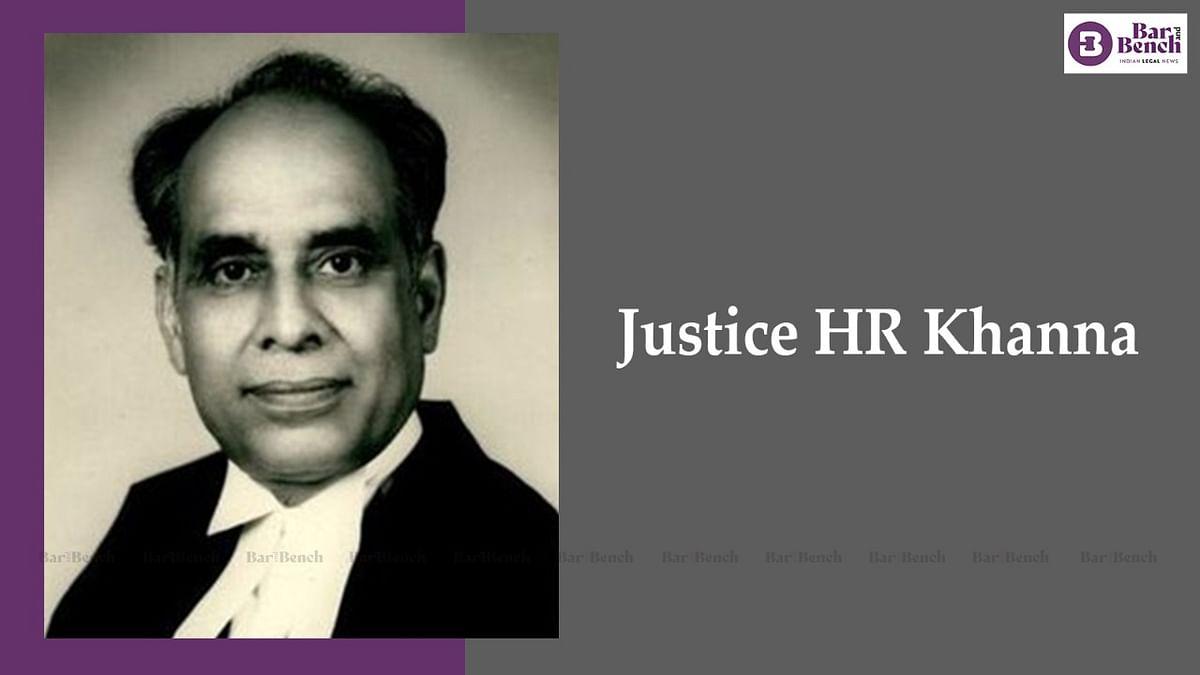 [Live Now]: Justice HR Khanna Memorial National Symposium - Justices UU Lalit, V Ramasubramanian, Muralidhar to speak