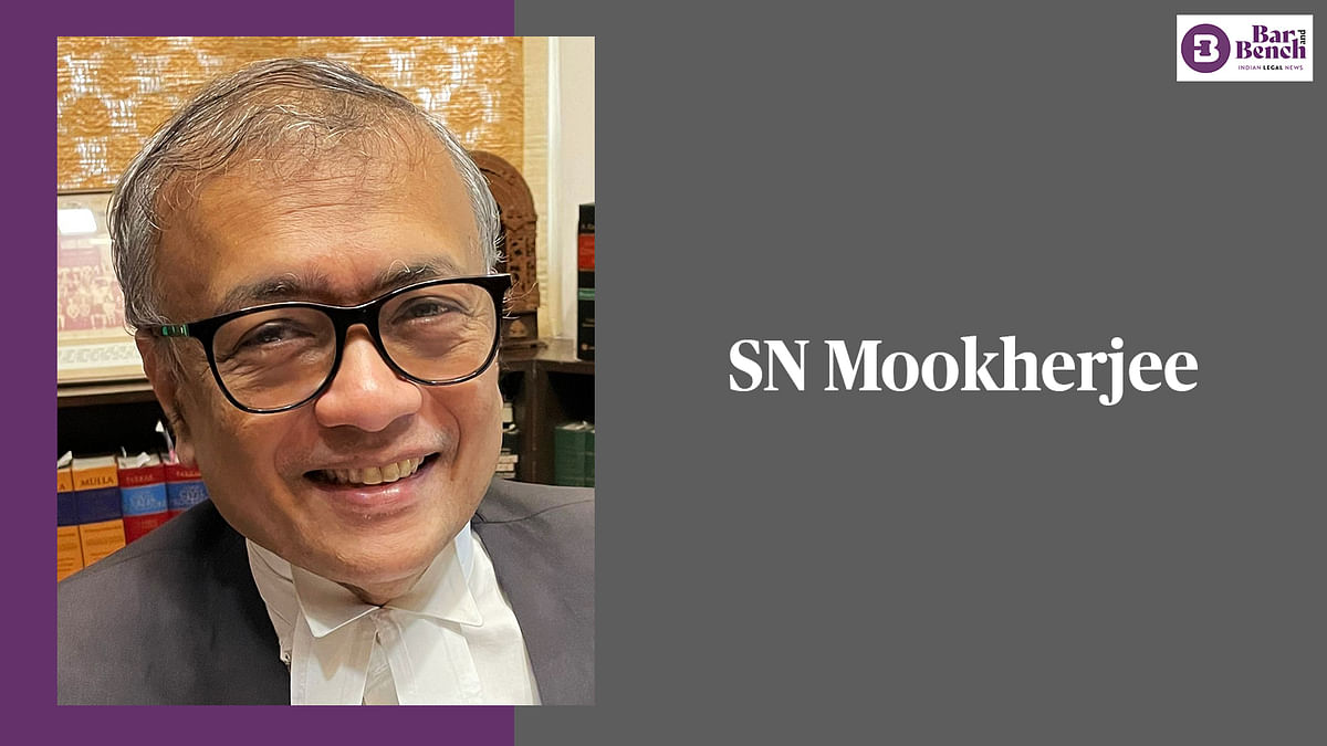 Who is the new West Bengal Advocate General? A profile of SN Mookherjee