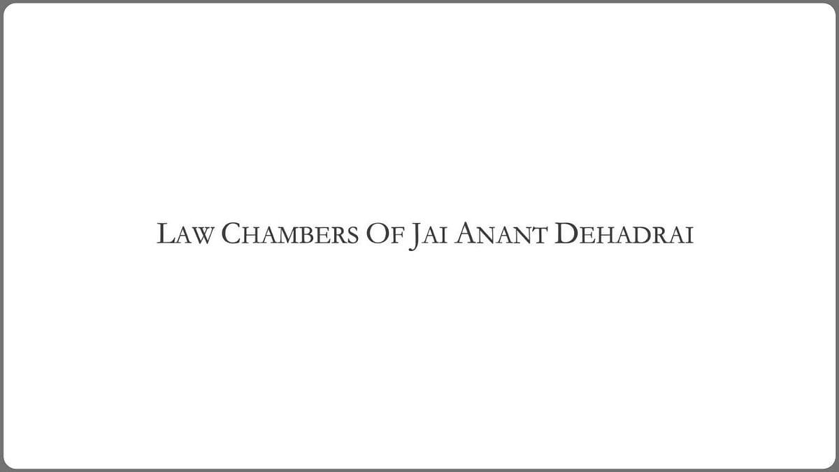 Chambers of Jai Anant Dehadrai is looking to hire an Associate