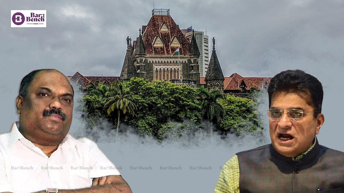 Anil Parab files ₹100 crore defamation suit in Bombay High Court against BJP leader Kirit Somaiya