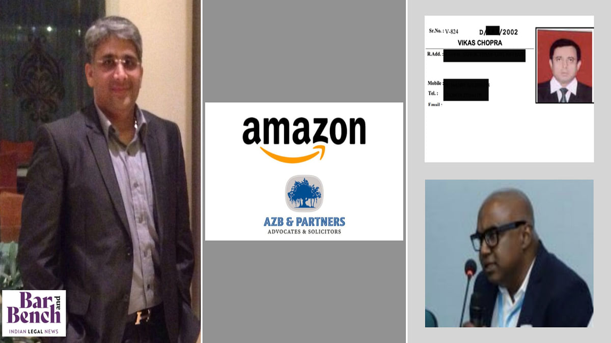 Amazon lawyer says he was empaneled by AZB; work, payment of fees was done through firm