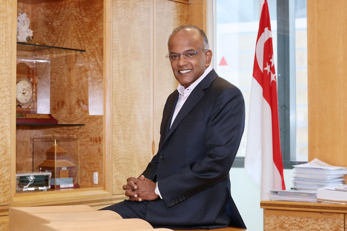 Mediation filings have doubled since 2019: Singapore Law Minister K Shanmugam