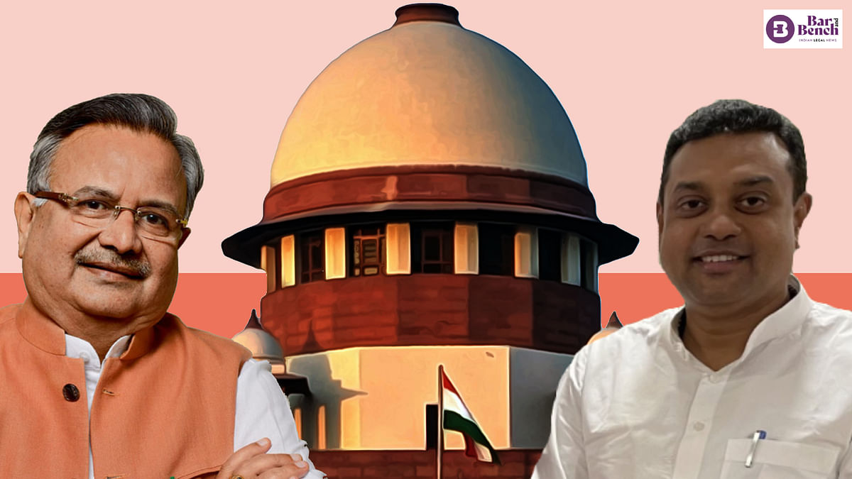 [BREAKING] Toolkit case: Supreme Court dismisses appeal against stay on  Raman Singh, Sambit Patra probe