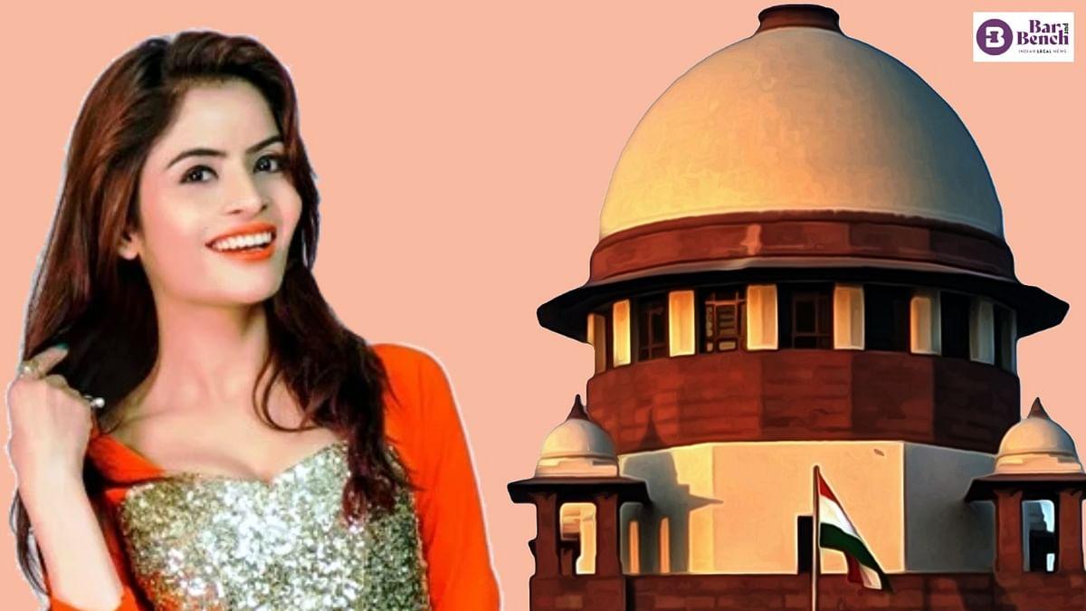 [Porn film case] Supreme Court stays Bombay High Court order rejecting Gehana Vasisth anticipatory bail
