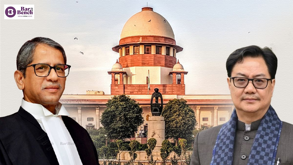 With a dynamic Law Minister, we hope Collegium recommendations for High Court will be cleared rapidly as was done for SC: CJI NV Ramana