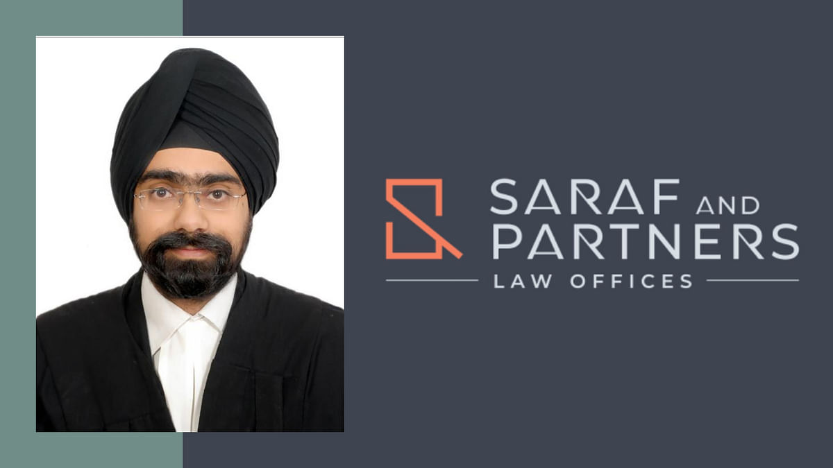 L&L's Manmeet Singh joins Saraf & Partners; to be part of Management Committee