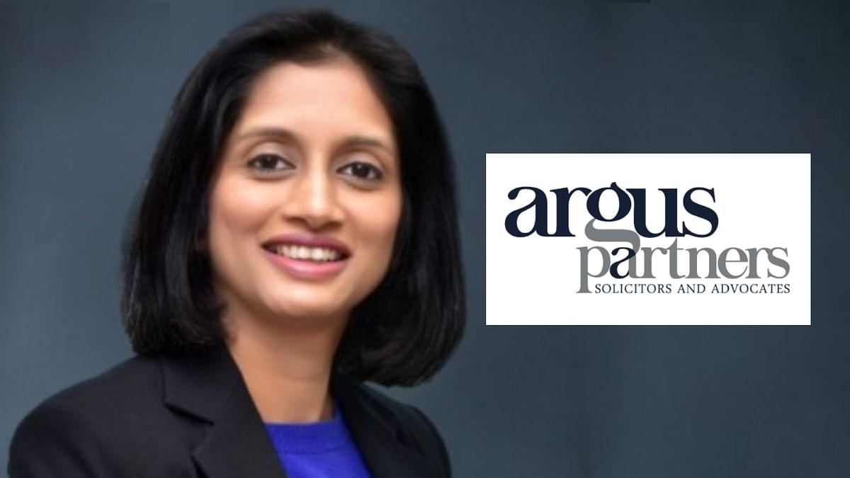 HSA Partner Rachika Sahay joins Argus Partners