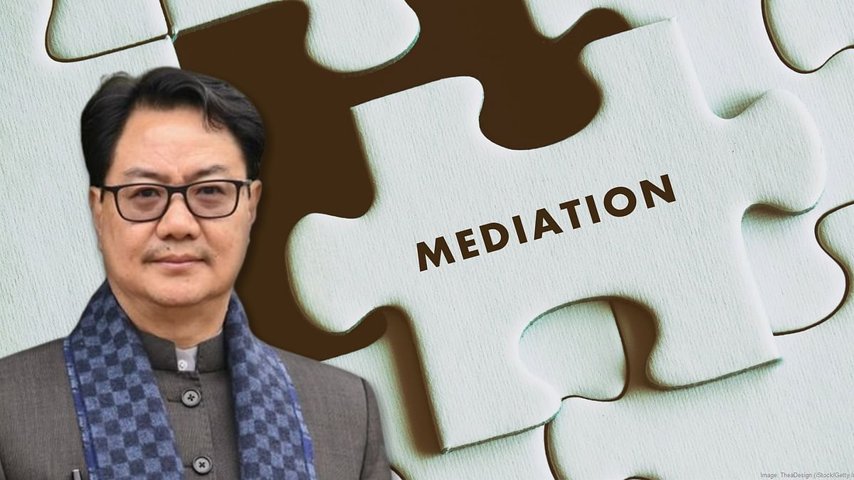 Centre will introduce new law on mediation: Law Minister Kiren Rijiju