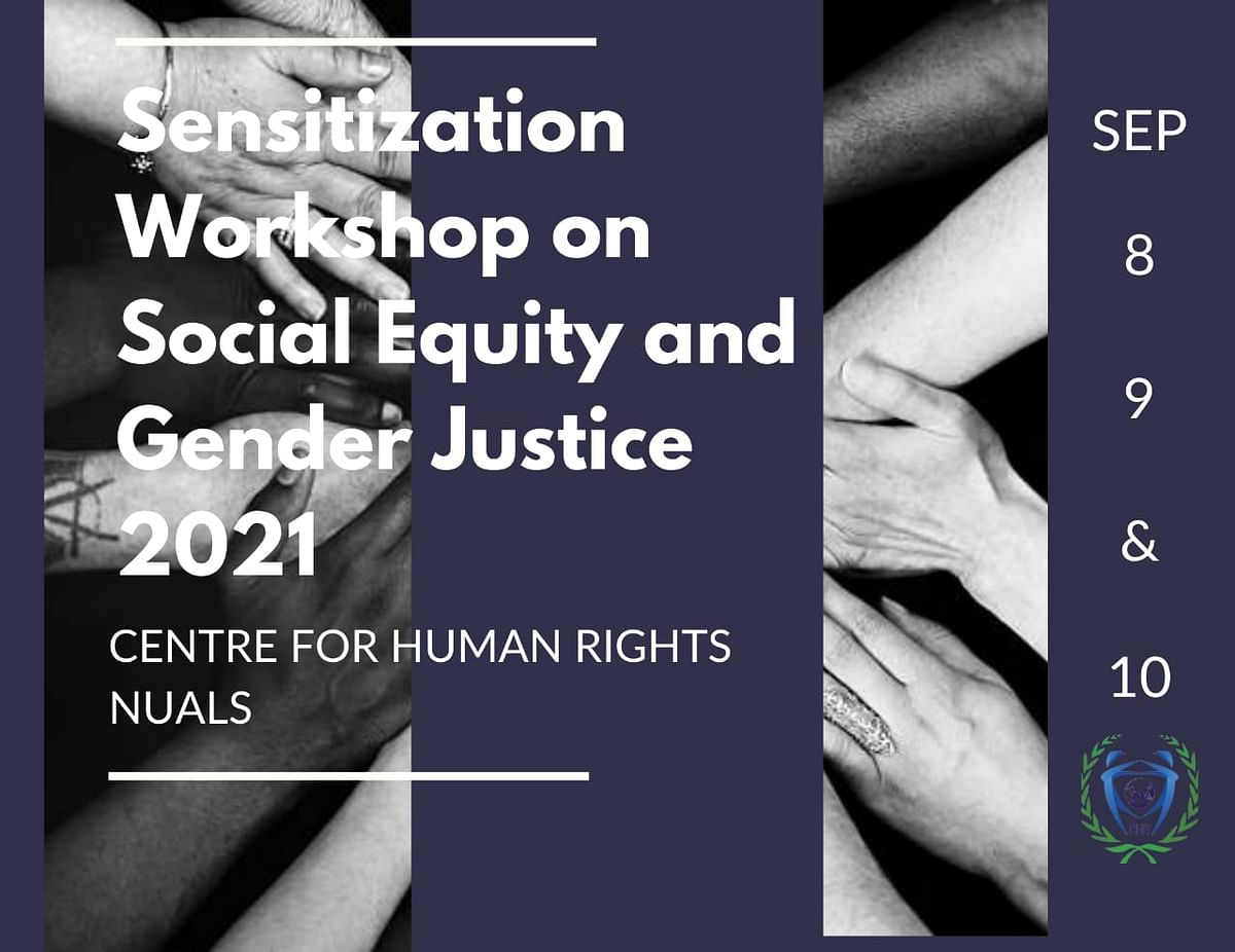 NUALS conducts 3-day Sensitization workshop on Social Equity and Gender Justice