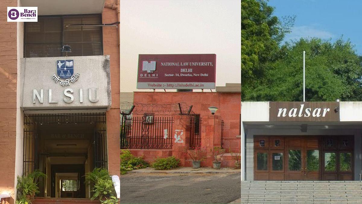 NIRF Rankings 2021: NLSIU, NLU Delhi, NALSAR top three law colleges again