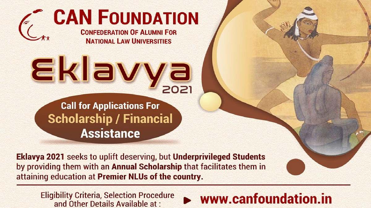 CAN Foundation announces 3rd Edition of Project Eklavya to support undergrads in NLUs
