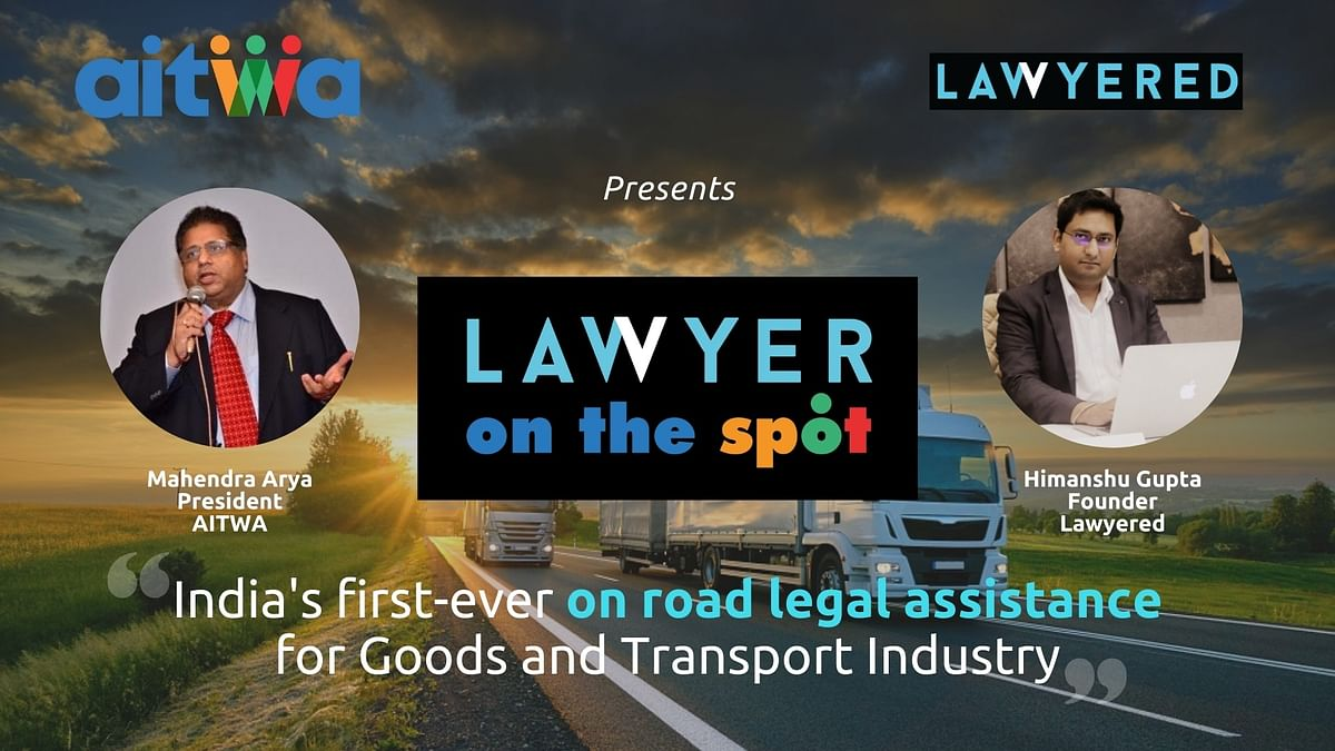 AITWA launches India's first on-road legal assistance program, Lawyer on-the-Spot