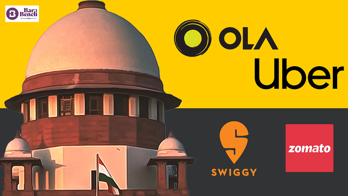 """""""Gig workers"""" move Supreme Court against Zomato, Swiggy, Uber, Ola seeking social security"""