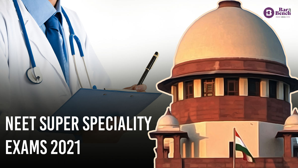 [BREAKING] Revised pattern for NEET PG Super Speciality only from 2022: Centre tells Supreme Court
