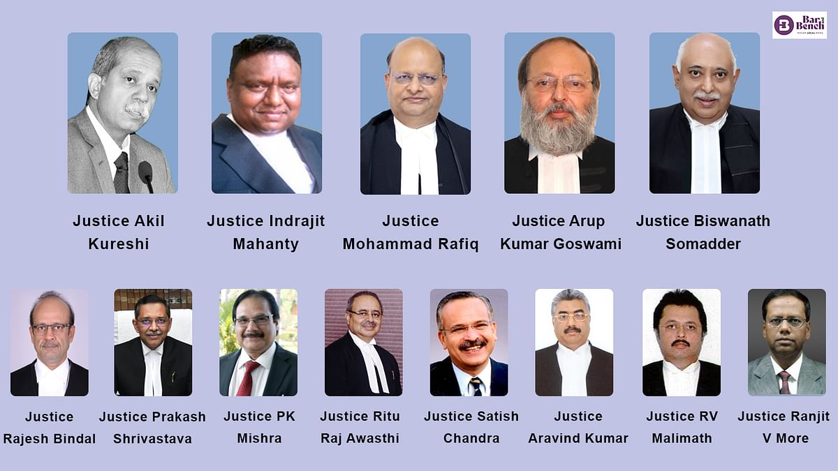 [BREAKING] Centre notifies new Chief Justices for 8 High Courts, transfer of 5 others