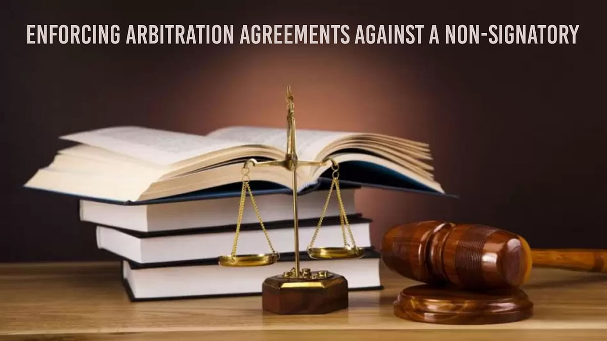 Enforcing arbitration agreements against a non-signatory
