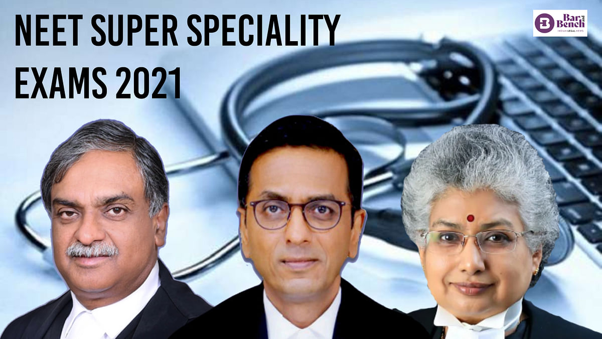 [NEET PG Super Speciality 2021] Will heavens fall if new pattern implemented from next year? Supreme Court to Centre