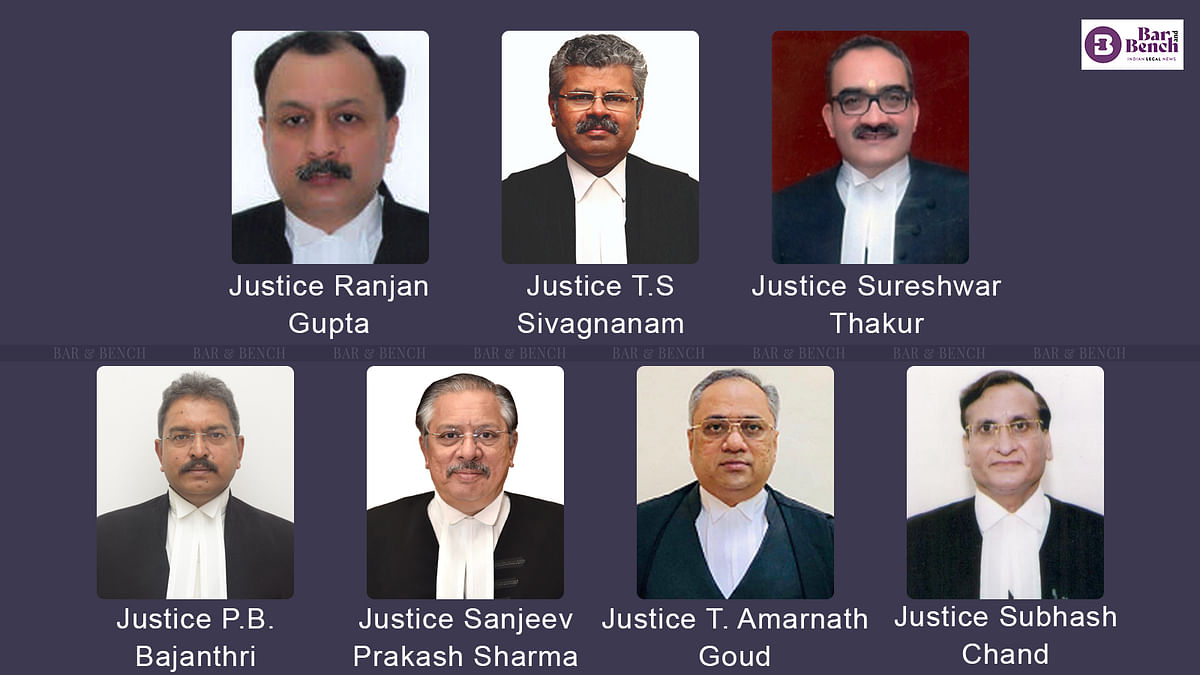 [BREAKING] Central govt notifies transfer of 7 High Court judges