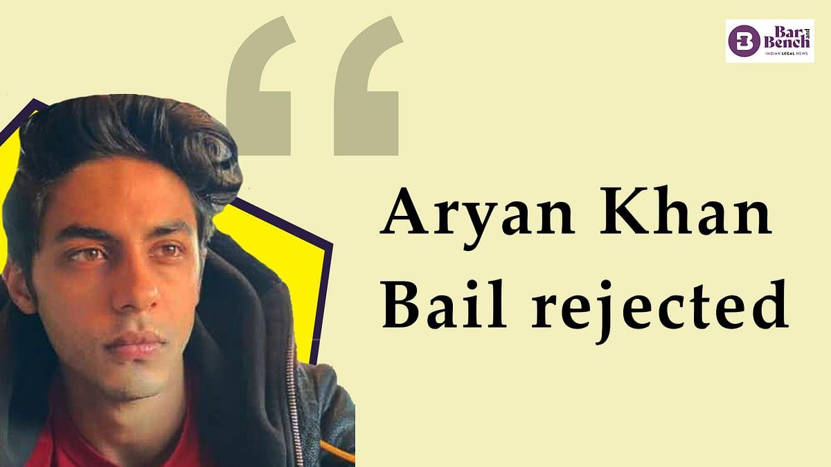 [BREAKING] Aryan Khan denied bail by Mumbai Sessions Court
