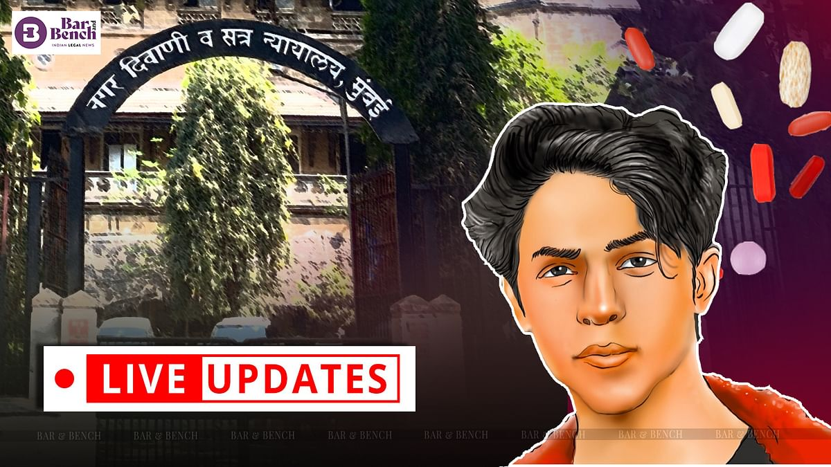 Aryan Khan bail hearing in cruise ship drug case [LIVE UPDATES from Mumbai Sessions Court]