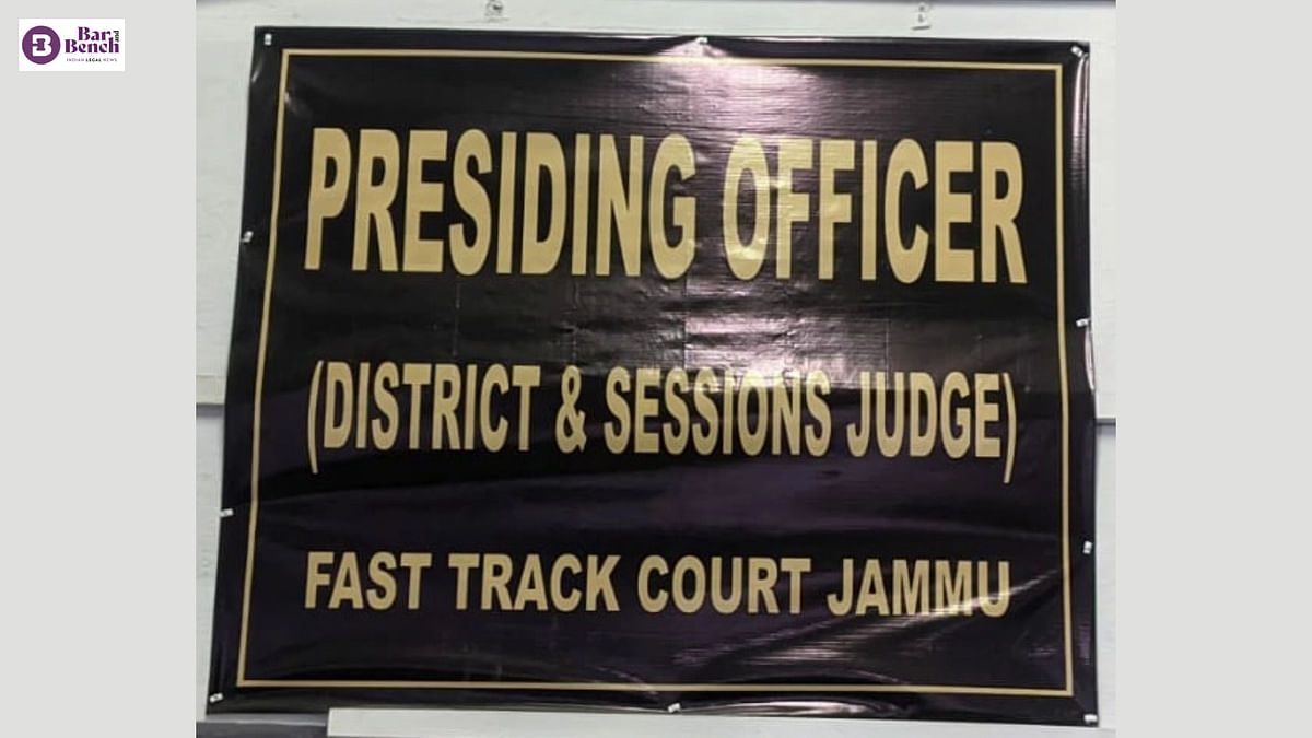 Jammu & Kashmir fast track court sentences sub-judge to 10 years in jail for rape