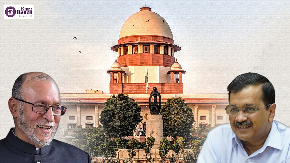 AAP v. LG: Supreme Court three-Judge Bench to hear issue of 'services' after Dussehra vacation