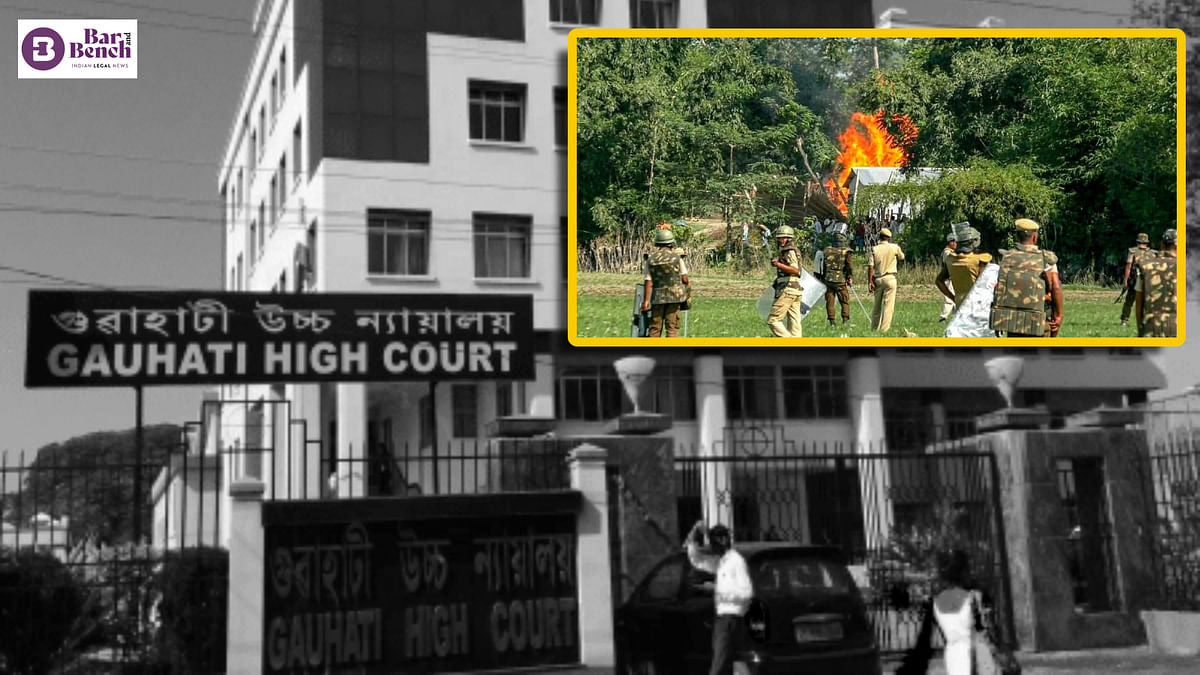 "[Assam violence] ""Khoon zameen pe gir gaya:"" Gauhati High Court seeks State govt response on evictions"