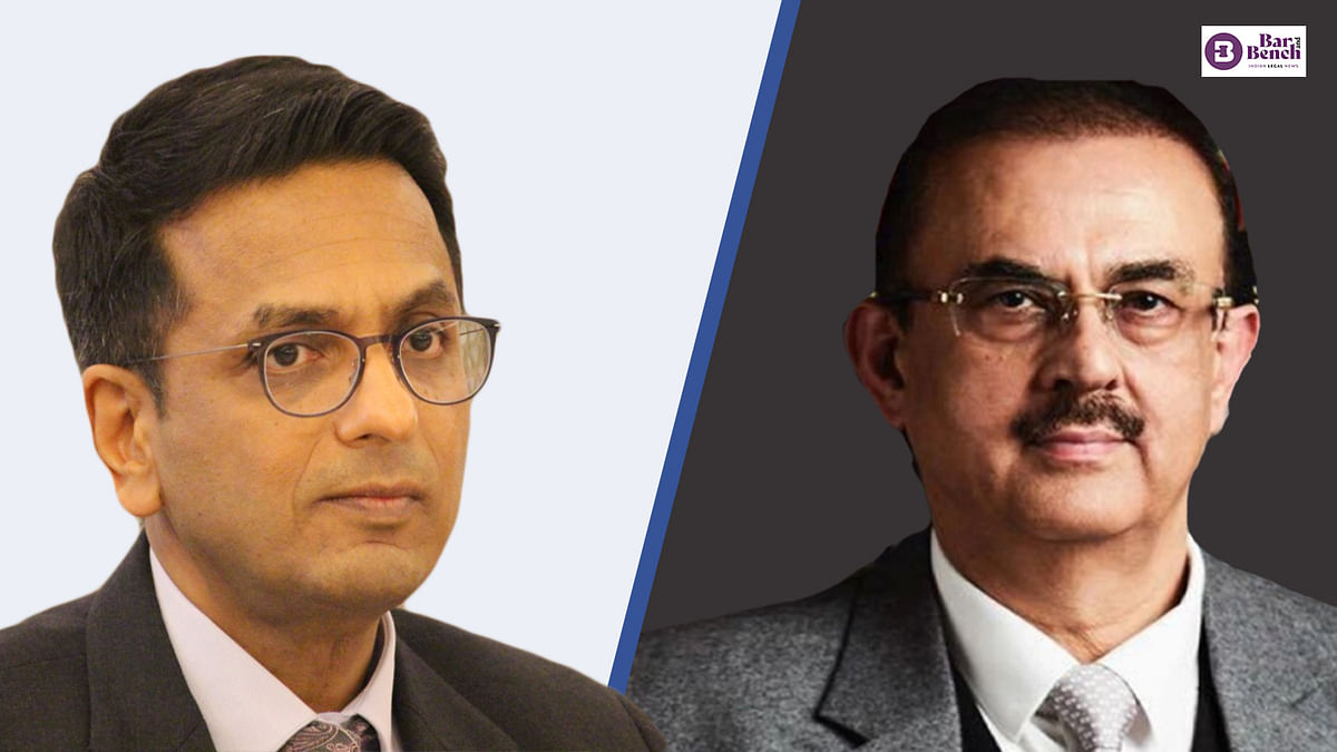 """""""Listen to me:"""" Irked Justice DY Chandrachud reprimands senior lawyer for making allegations against Supreme Court"""
