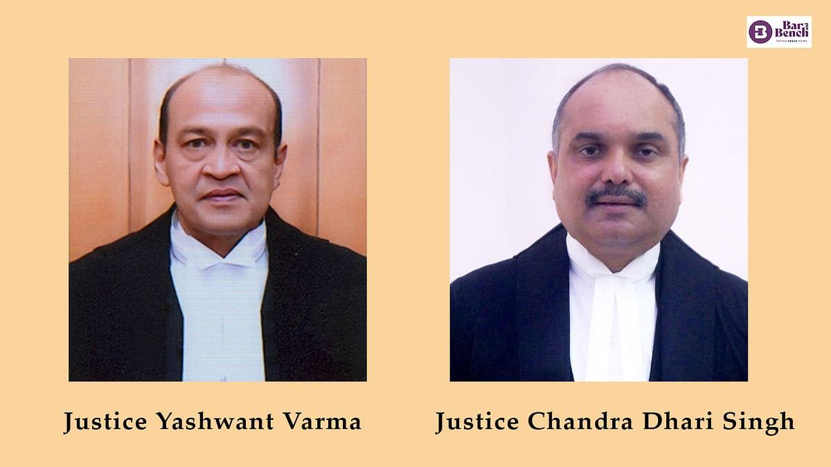 Justices Yashwant Varma and Chandra Dhari Singh take oath as Delhi High Court judges