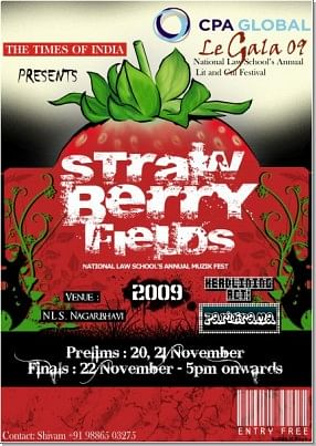 Strawberry Fields Forever – NLSIUs rock fest starts