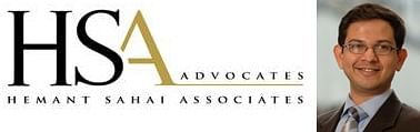 Hemant Sahai Associates relaunched as HSA Advocates and hires two Partners laterally