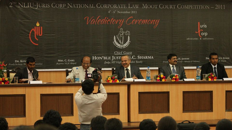 Second NLIU-Juris Corp Moot NLSIU beats Amity Law School