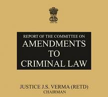 Synopsis of the Justice Verma Committee Report – Part I