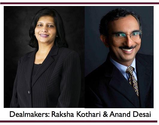 Dealmakers – Anand Desai and Raksha Kothari of DSK Legal