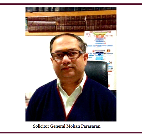 The Insiders Part II: The Office of Solicitor General Mohan Parasaran