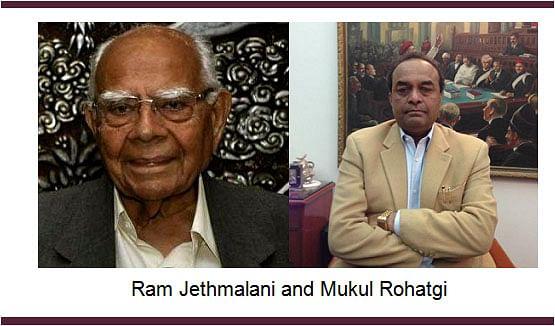 Jethmalani writes to PM Narendra Modi; Rohatgi's appointment as AG put on hold