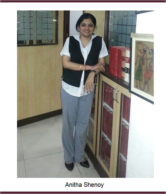Standing Counsel before Sitting Judges – Part III: Anitha Shenoy