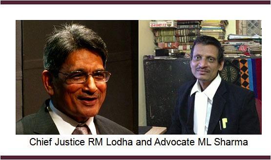 CJI Lodha slaps Rs. 25,000 cost on ML Sharma; Dismisses frivolous PIL for quashing sale of AIR India Hotels