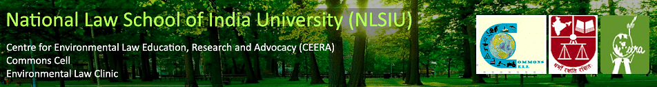 Call for Papers: NLSIU's Journal on Environmental Law, Policy and Development  (Submit by Oct 31, 2014)