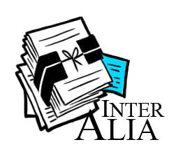 Inter Alia: The incredible lightness of indifference